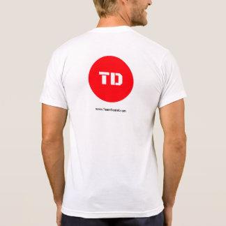 Camiseta T-shirt dos homens da vida de Daniel da equipe o