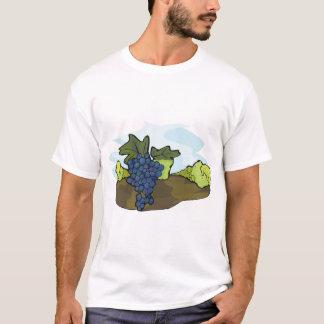 Camiseta T-shirt dos homens da vinha
