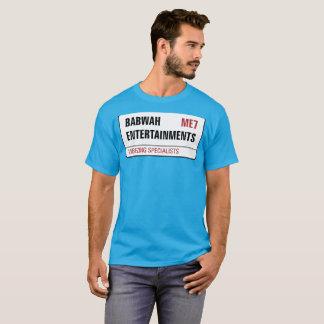 Camiseta T-shirt dos homens de Babwah