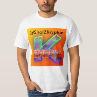 Camiseta T-shirt dos homens de ShotZ do crípton