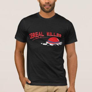 Camiseta T-shirt dos homens do assassino do cereal