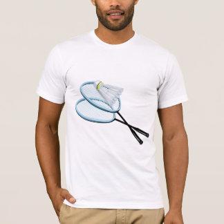 Camiseta T-shirt dos homens do Badminton