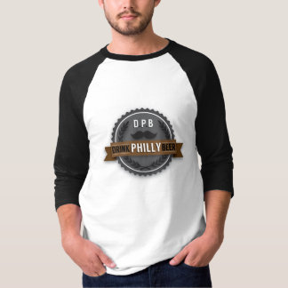 Camiseta T-shirt dos homens do boné de garrafa da luz da