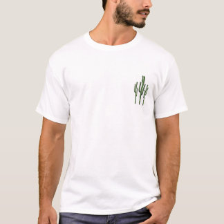 Camiseta T-shirt dos homens do cacto do Saguaro