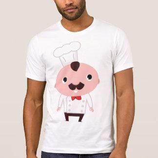 Camiseta T-shirt dos homens do cozinheiro chefe dos