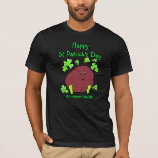 Camiseta T-shirt dos homens do Dia de São Patrício da