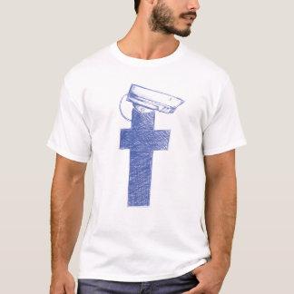 Camiseta T-shirt dos homens do guarda de Facebook