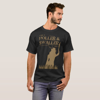 Camiseta T-shirt dos homens do Holler & do Swaller