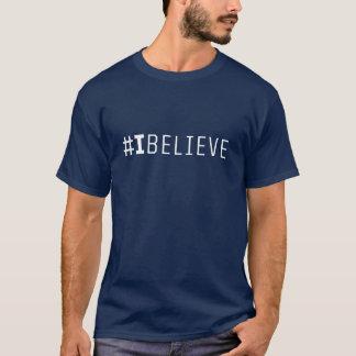 Camiseta T-shirt dos homens do #IBELIEVE