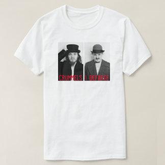 Camiseta T-shirt dos homens do Mugshot