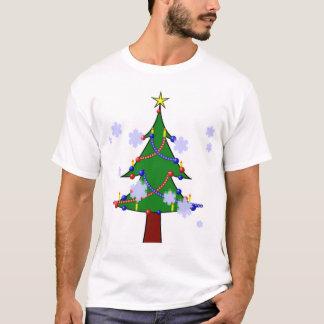 Camiseta T-shirt dos homens do Natal
