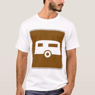Camiseta T-shirt dos homens do parque da caravana