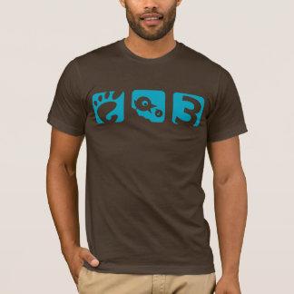 Camiseta T-shirt dos homens do pássaro do GNOMO 3