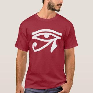 Camiseta T-shirt dos homens do símbolo do olho de Egipto
