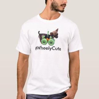 Camiseta T-shirt dos homens do #WheelyCute