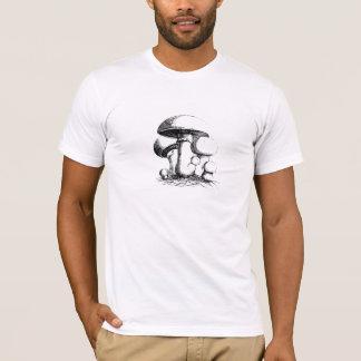 Camiseta T-shirt dos homens dos cogumelos de prado