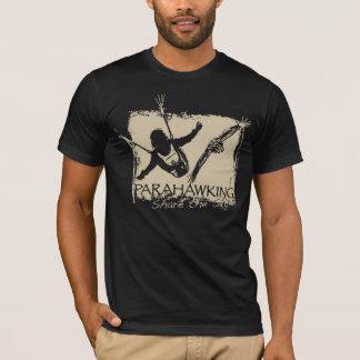 Camiseta T-shirt dos homens - preto
