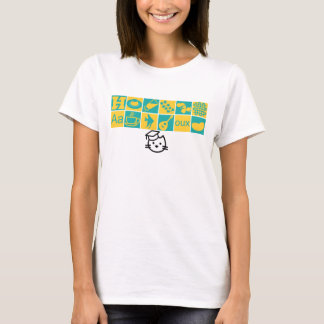 Camiseta T-shirt dos ícones da classe da academia do