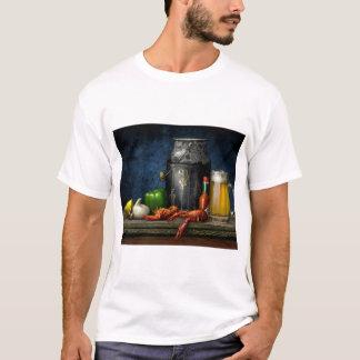 Camiseta T-shirt dos lagostins & da cerveja