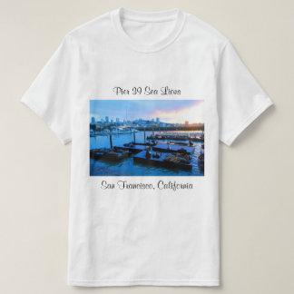 Camiseta T-shirt dos leões de mar #5 do cais 39 de San