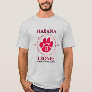 Camiseta T-shirt dos leones de Habana (leões de Havana)