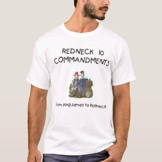 Camiseta T-shirt dos mandamentos do campónio 10