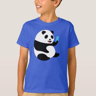 "Camiseta T-shirt dos meninos: De ""panda Selfie """