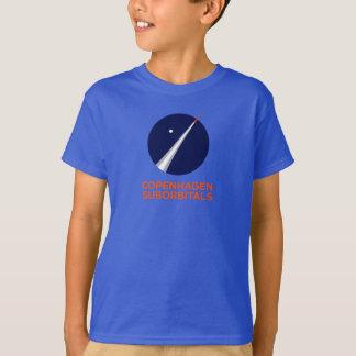Camiseta T-shirt dos miúdos com logotipo de Copenhaga