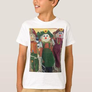 Camiseta T-shirt dos miúdos dos espantalhos