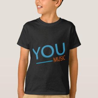 Camiseta t-shirt dos miúdos - você música
