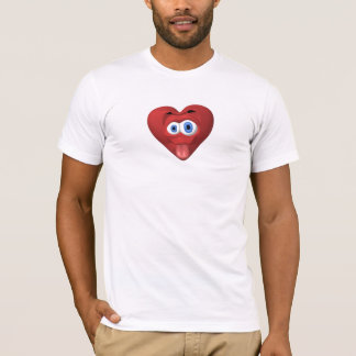 Camiseta T-shirt dos namorados da framboesa anti