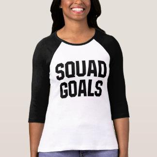 Camiseta T-shirt dos objetivos do pelotão