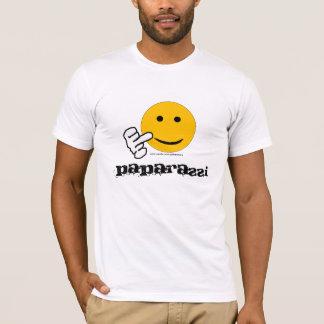 Camiseta T-shirt dos paparazzi do dedo médio