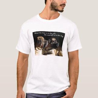 Camiseta T-shirt dos pares do Mastiff