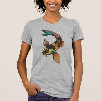 Camiseta T-shirt dos peixes de Koi