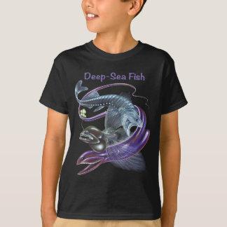 Camiseta T-shirt dos peixes de mar profundo
