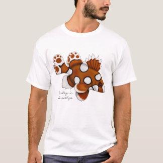 Camiseta T-shirt dos peixes do recife de Sweetlips do