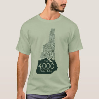 Camiseta T-shirt dos pés de página do NH 4000 (logotipo