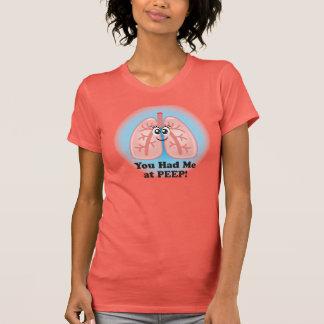 Camiseta T-shirt dos pulmões