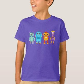 Camiseta T-shirt dos robôs