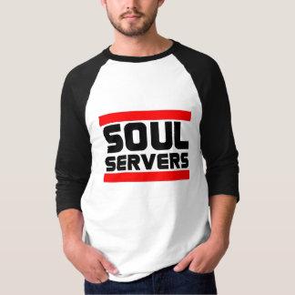 Camiseta T-shirt dos servidores da alma