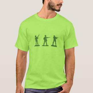 Camiseta T-shirt dos soldados de brinquedo