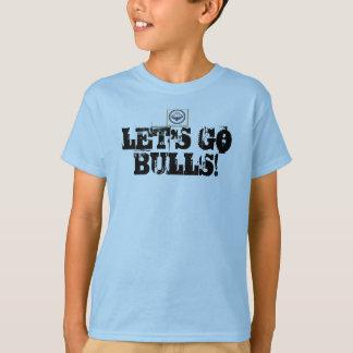 "Camiseta t-shirt dos touros dos touros de Bolton ""Lets vai"""