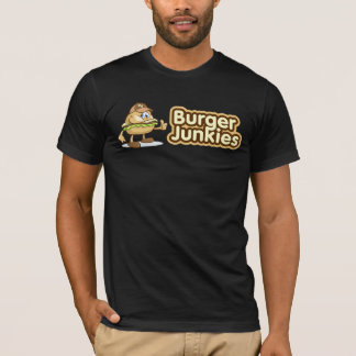 Camiseta T-shirt dos toxicómanos do hamburguer