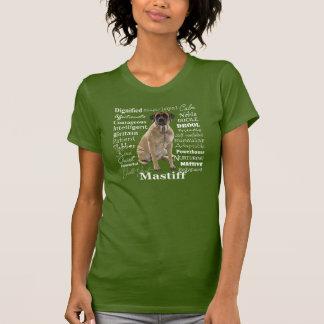 Camiseta T-shirt dos traços do Mastiff