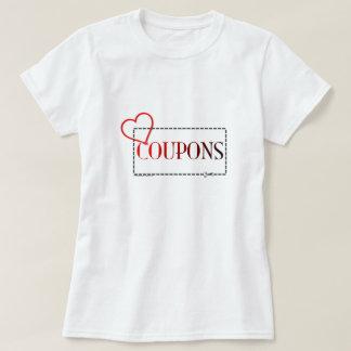Camiseta T-shirt dos vales do coração