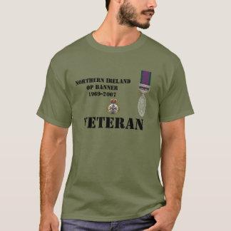 Camiseta T-shirt dos veteranos de Irlanda do Norte