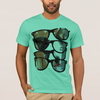 Camiseta T-shirt dos vidros de border collie Sun por Ginny