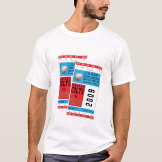 Camiseta T-shirt dos world series de Dallas Colts