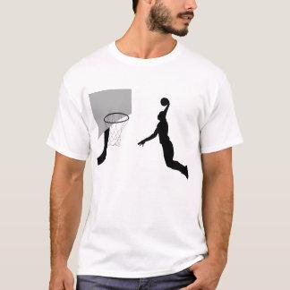 Camiseta T-shirt dunking do jogador de basquetebol